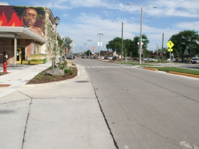 W. Fond du Lac Ave. Pedestrian Safety Improvement