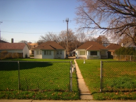 Homes in the Rufus King neighborhood.