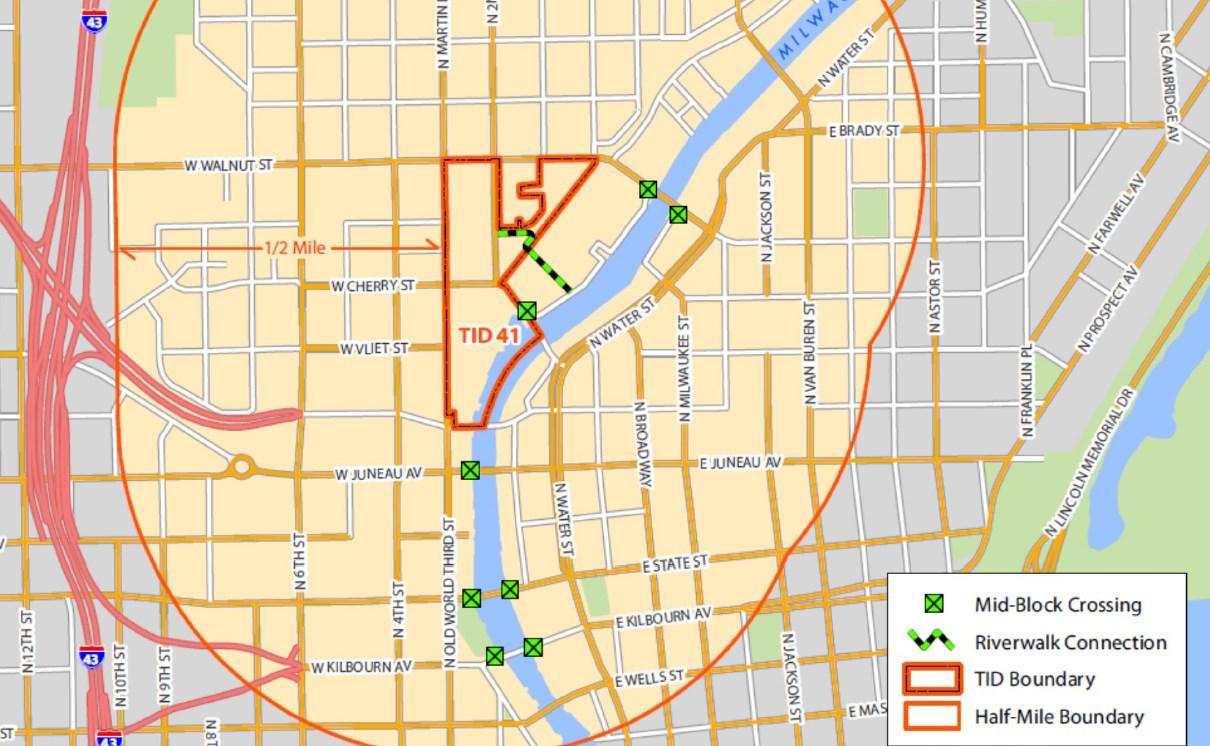 Schlitz Park Improvements Map