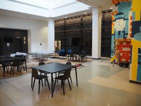 Schlitz Rivercenter Lobby