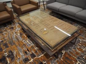 Schlitz Malt House Table