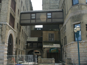 Schlitz Brew House and Stock House (Brown Bottle Entrance)