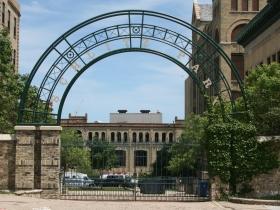 Schlitz Park Entrance from N. Martin Luther King Jr. Dr.