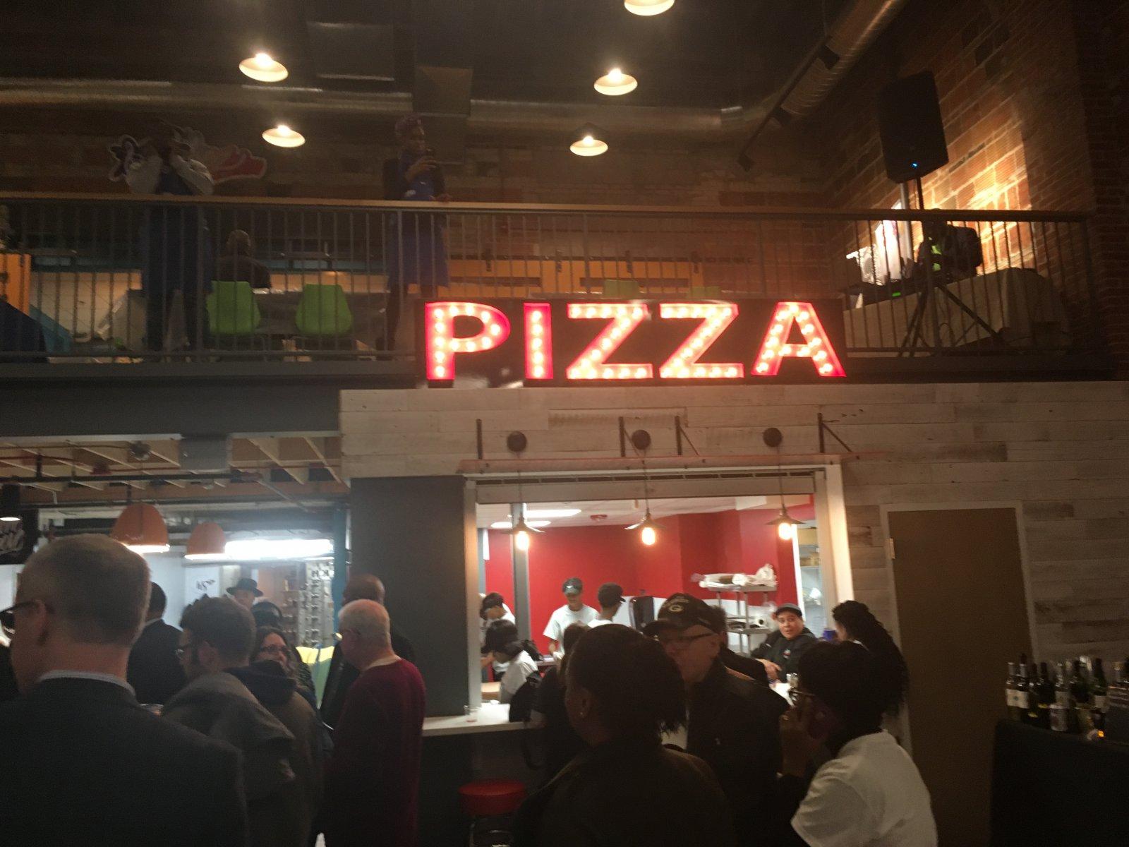 Pizza at Sherman Phoenix