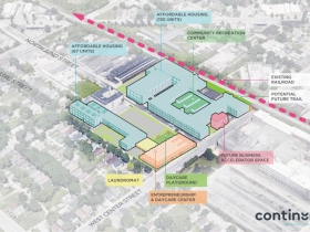 The Community Within The Corridor Site Plan