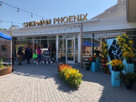 Floral Sculpture at Sherman Phoenix