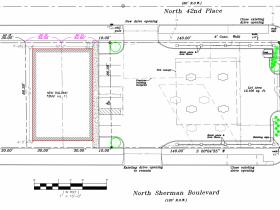 Site Plan for Sherman Park BP