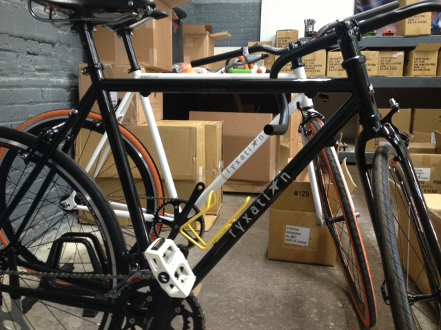 Fyxation Bicycles.