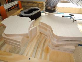 WI cutting boards in progress.