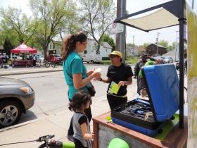 Mobile Bike Hub event.