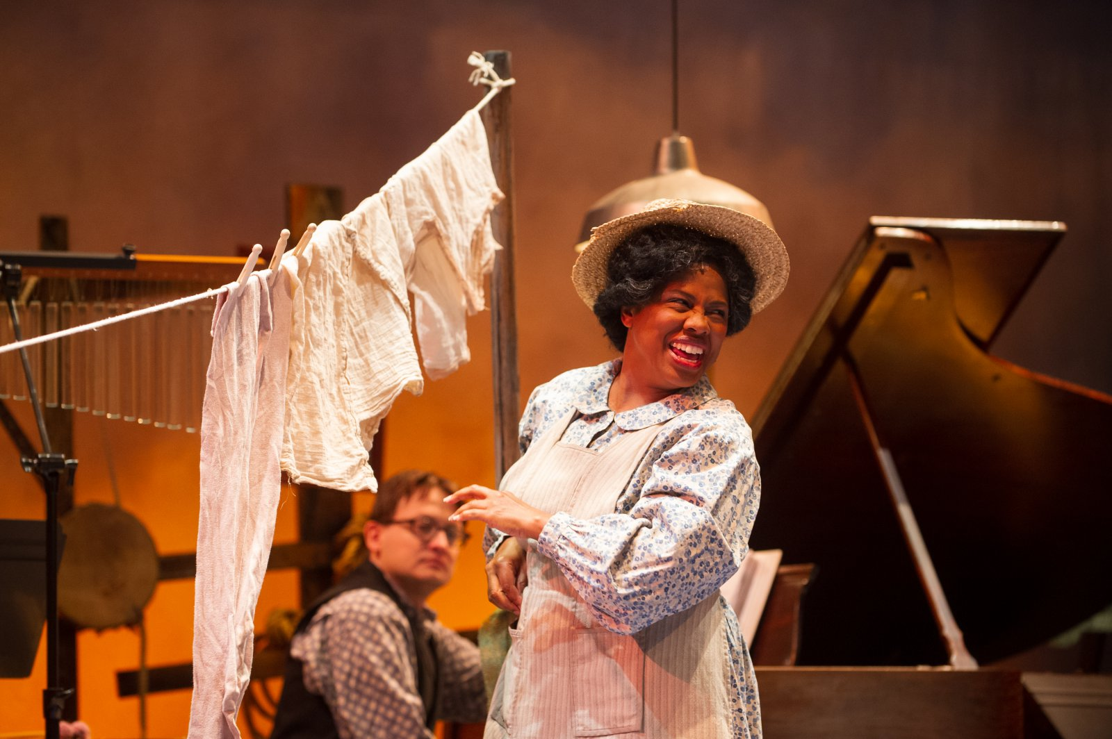 Cynthia Cobb (Aunt Eller) in Skylight Music Theatre's production of Oklahoma! September 27 – October 13.
