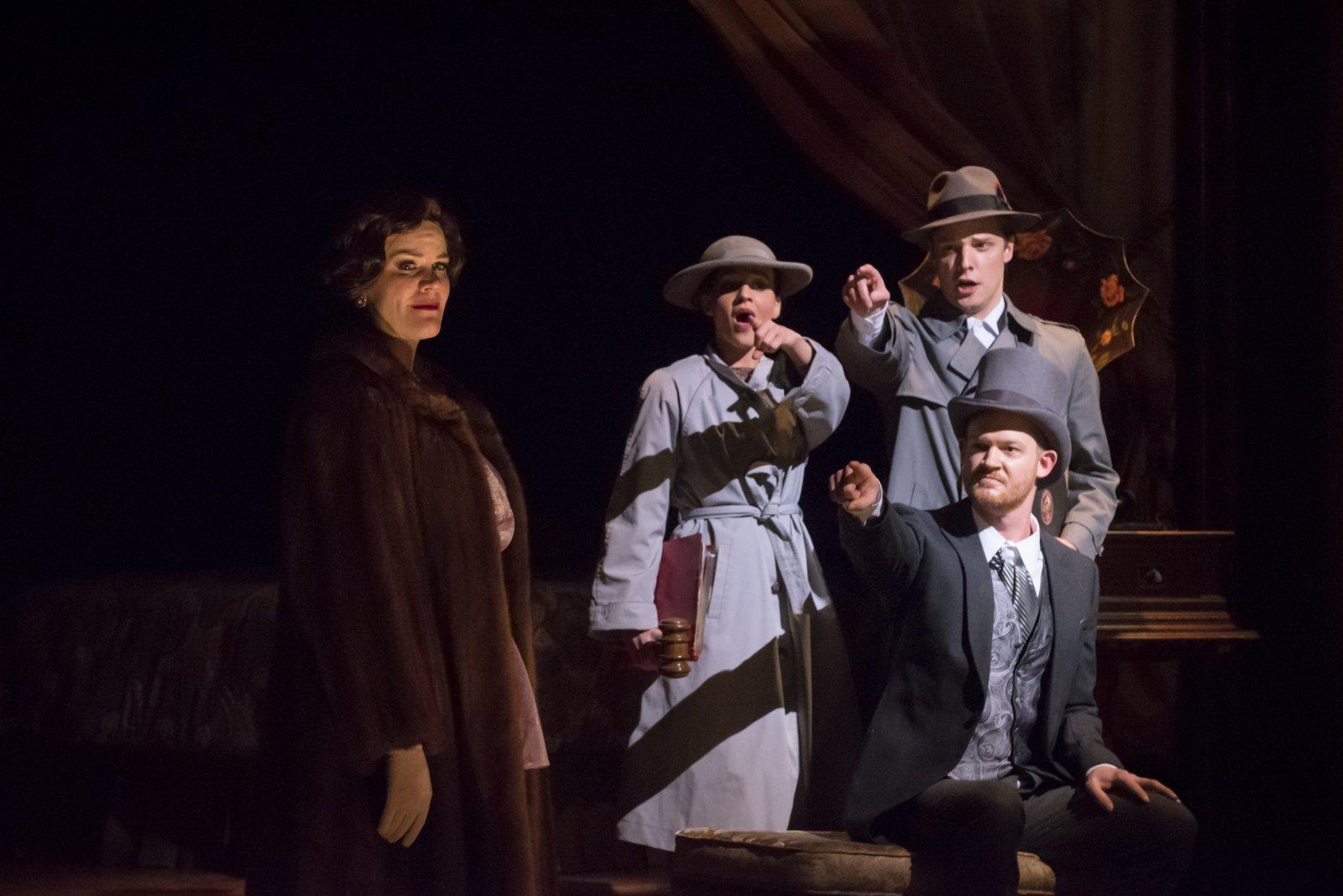 Cassandra Black (Duchess), Benjamin Robinson (Electrician), Kaleigh Rae Gamache' (Maid), Joseph Beutel (Hotel Manager)