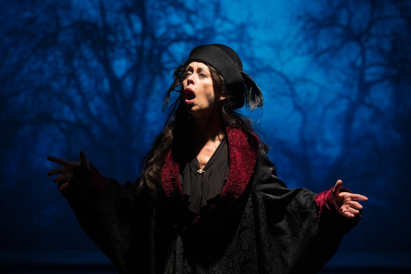 Diane Lane (Mad Margaret) in Skylight Music Theatre and Milwaukee Opera Theatre's production of Ruddigore running January 3 – January 19, 2020.