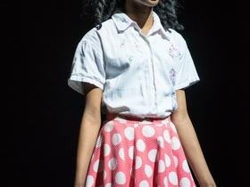 Terynn Erby-Walker (Little Inez) in rehearsal for Skylight Music Theatre's production of Hairspray November 16 – December 30.