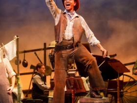Sean Anthony Jackson (Will Parker) in Skylight Music Theatre's production of Oklahoma! September 27 – October 13.