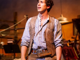 Lucas Pastrana (Curly McLain), in Skylight Music Theatre's production of Oklahoma! September 27 – October 13.