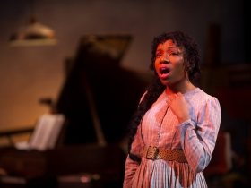 Brittani Moore (Laurey Williams) in Skylight Music Theatre's production of Oklahoma! September 27 – October 13.