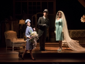 Cassandra Black (Duchess), Kaleigh Rae Gamache' (Maid), Joseph Beutel (Hotel Manager)