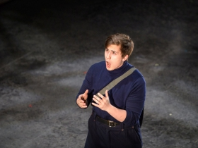 Lucas Pastrana (Anthony Hope) in Skylight Music Theatre's Sweeney Todd running May 19 – June 11.