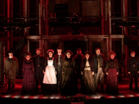 Cast of Skylight Music Theatre's Sweeney Todd running May 19 – June 11.