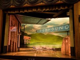 Set Design by Adam Stoner for Skylight Music Theatre's Violet