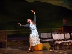 Allie Babich (Violet) in Skylight Music Theatre's Violet