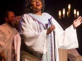 Raven Dockery (Lula Buffington) in Skylight Music Theatre's Violet