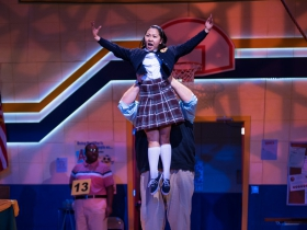 Kendyl Ito (Marcy Park) in Skylight Music Theatre's production of The 25th Annual Putnam County Spelling Bee running February 7 – February 23, 2020.