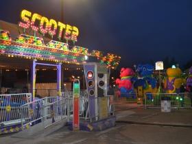 Carnival rides at Harvest Fair 2019