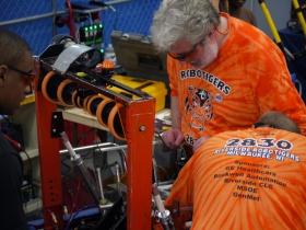 FIRST Robotics Team 2830, Riverside Robotigers, from Riverside University High School