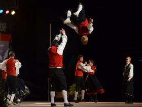 Scandinavian dance group