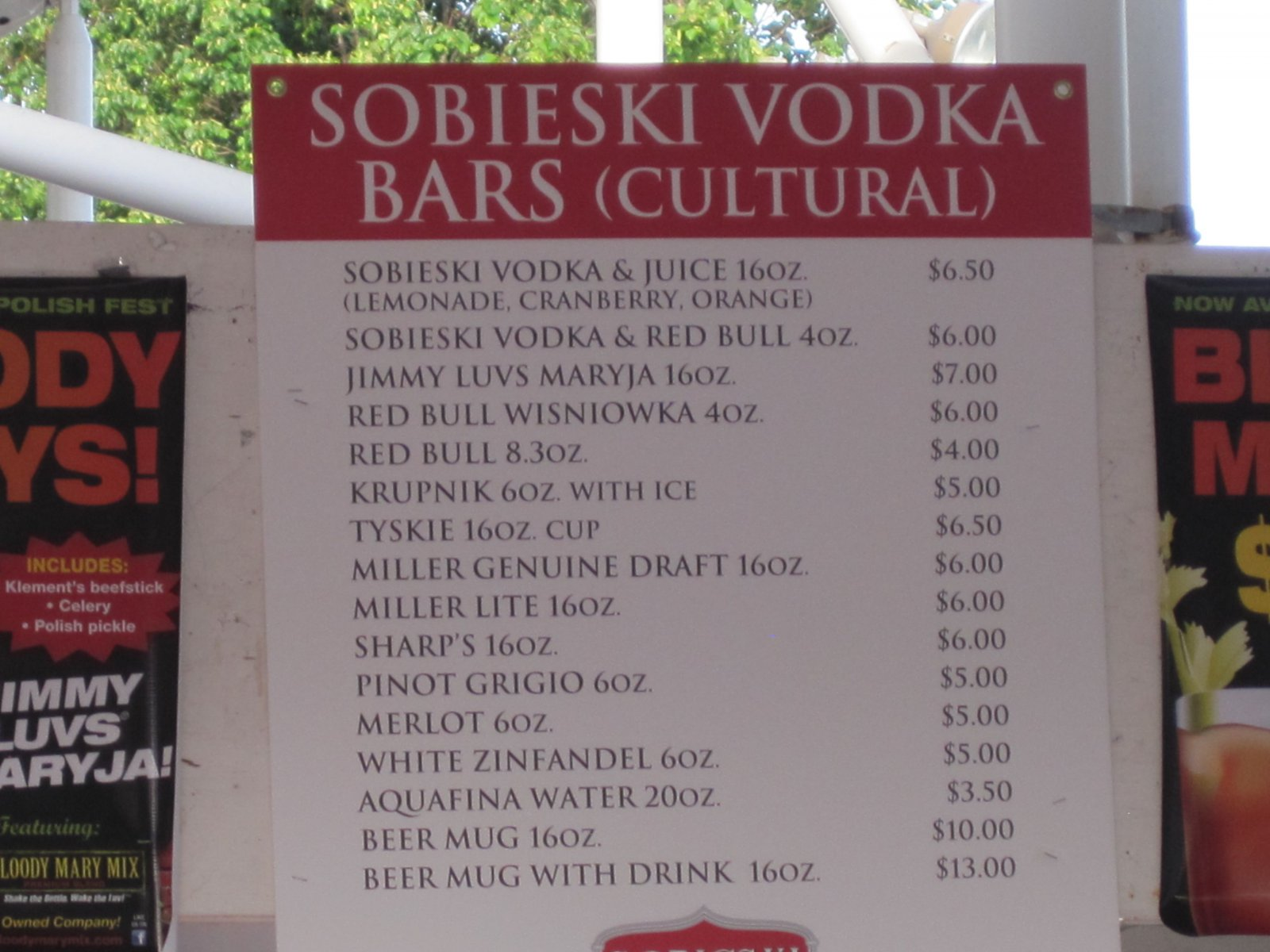 Vodka anyone?