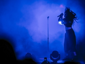 Lorde at the BMO Harris Pavilion 2014.