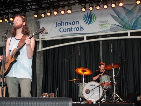 Singer, Nathan Levin and drummer, Jon Lindquist