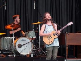 Singer, Nathan Levin and drummer Jon Lindquist