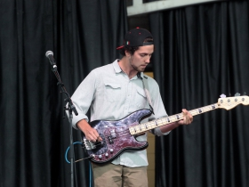 Bass player, Will Burnton