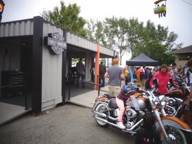 Harley time.