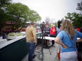 WTMJ 4 Live from Summerfest.
