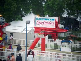 Ride the Sky Glider.