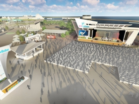New U.S. Cellular Connection Stage Rendering