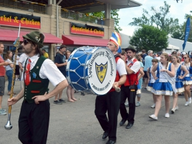 Children's parade at German Fest 2018