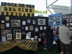 Cultural pavilion at Mexican Fiesta