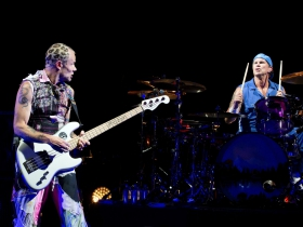 Flea and Chad Smith