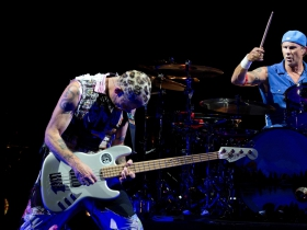 Flea and Chad Smith