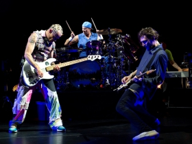 Flea, Chad Smith and Josh Klinghoffer