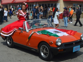 Ms. Mexican Fiesta at the parade