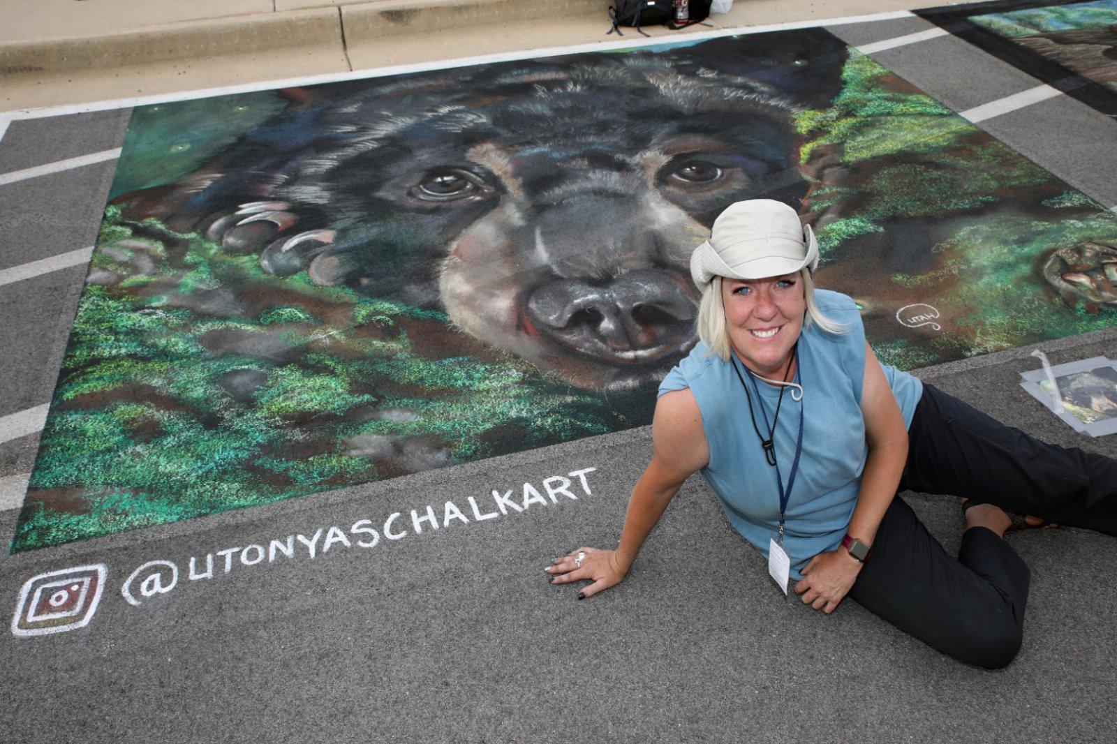 Artist, Tonya Youngberg from West Bountiful, Utah