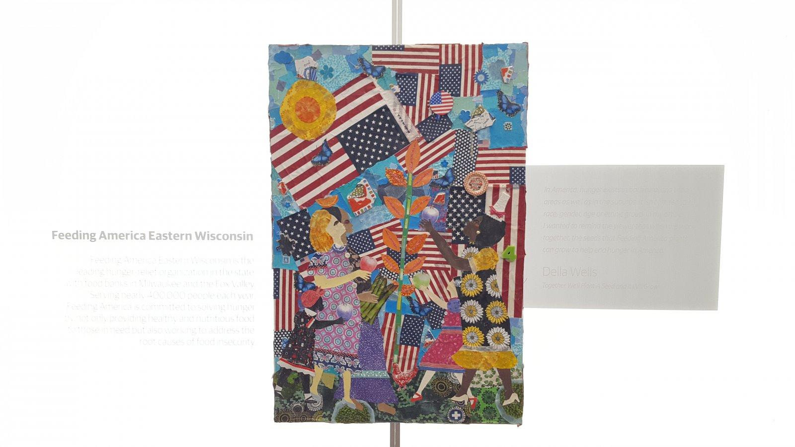 Tribute to Feeding America by Della Wells