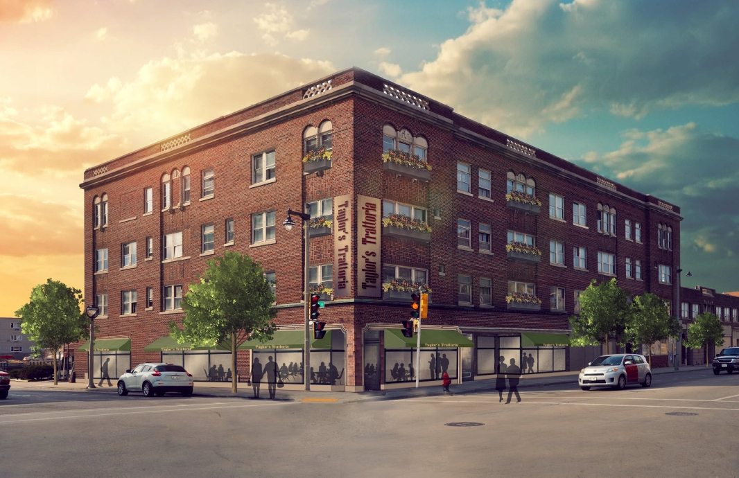 Adaptive re-use at 27th and Wells