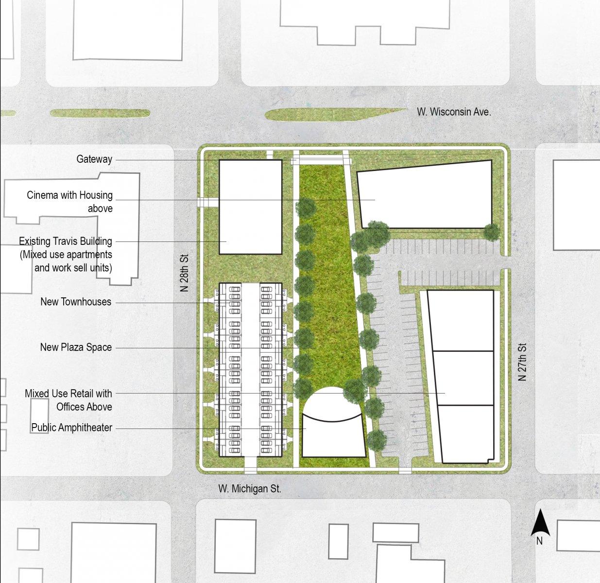 Charette site plan